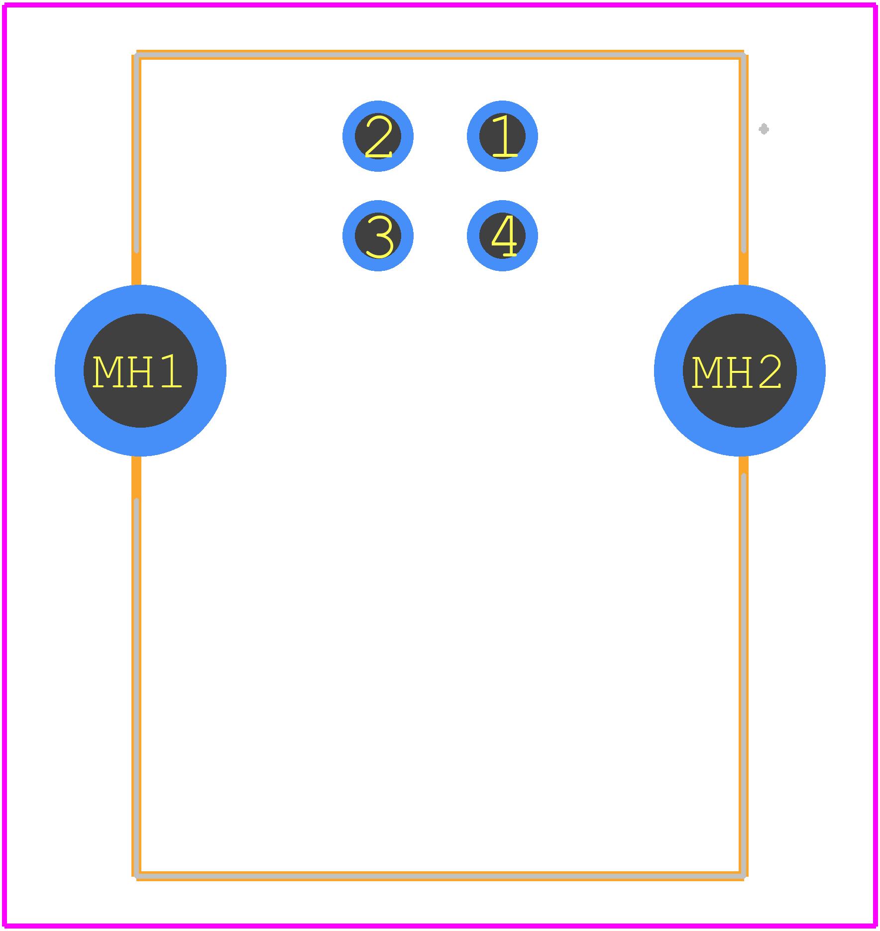 UJ2-BH-1-TH - CUI PCB footprint - Other - UJ2-BH-1-TH