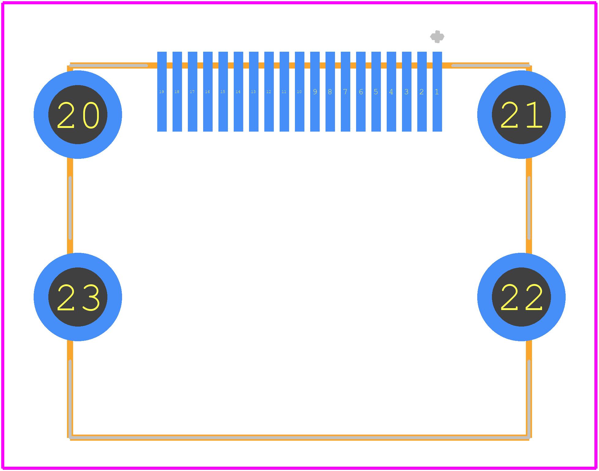47151-1081 - Molex PCB footprint - Other - 47151-1081