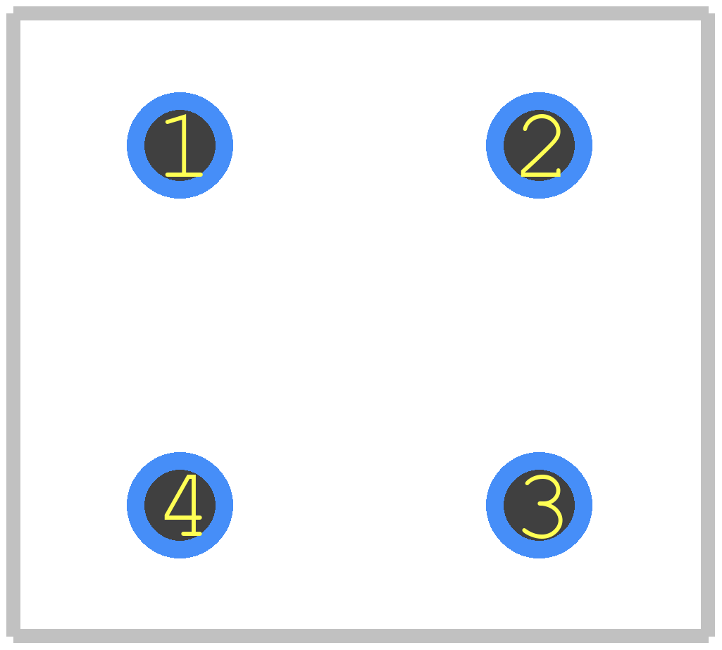W10G-E4/51 - Vishay PCB footprint - Other - WOG(8.84X5.6)_1