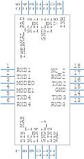 MLX80004 - Melexis - PCB symbol