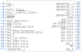 Xb3 24z8cm J Digi International Pcb Footprint Symbol Download