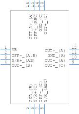 HMC1053 - Honeywell - PCB symbol