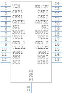 TPS92518HV-Q1 - Texas Instruments - PCB symbol