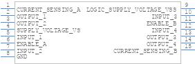 L298N - STMicroelectronics - PCB symbol