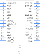 A3941KLPTR - Allegro Microsystems - PCB symbol