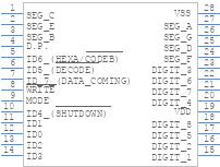 Icm7218aiji Intersil Pcb Footprint Symbol Download