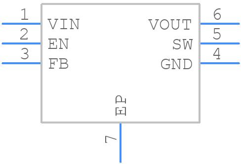 ADP1607ACPZN-R7 - Analog Devices - PCB symbol