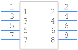 54602-908LF - FCI - PCB symbol