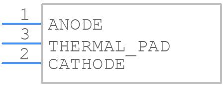 XHP50A-01-0000-0D0BJ20CB - Cree, Inc. - PCB symbol