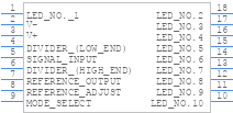 Lm3914n 1nopb Texas Instruments Pcb Footprint Symbol Download