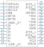 AD9826KRSZ - Analog Devices - PCB symbol