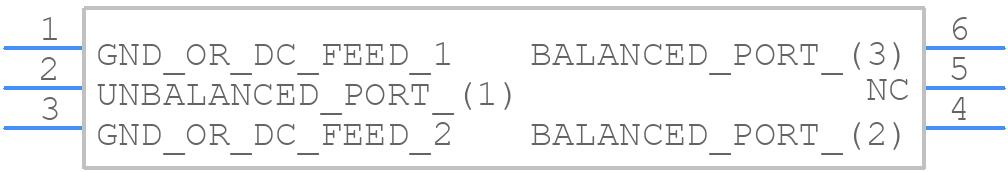 0900BL18B100E - JOHANSON TECHNOLOGY - PCB symbol