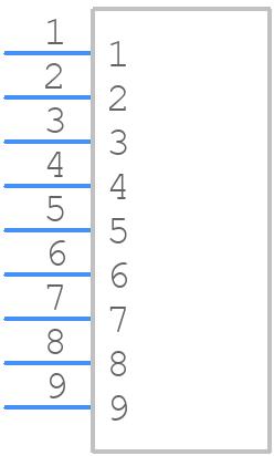 76341-309LF - FCI - PCB symbol