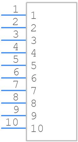 77311-101-10LF - FCI - PCB symbol