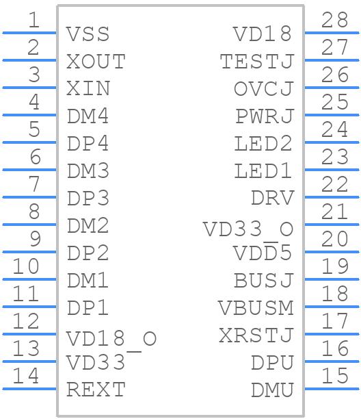 FE1.1S - JFD IC - PCB symbol