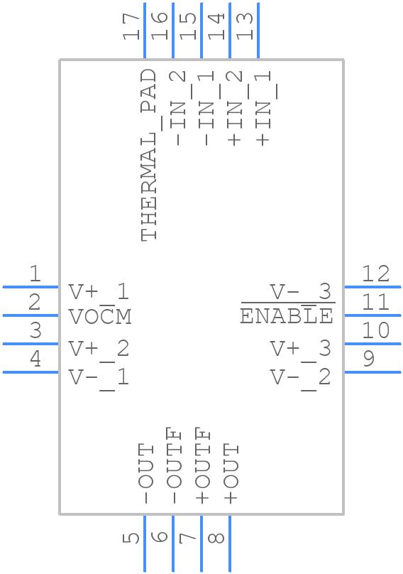 LTC6400CUD-26#PBF - Linear Technology - PCB symbol