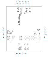 Rfpa0133 Rfmd Pcb Footprint Symbol Download