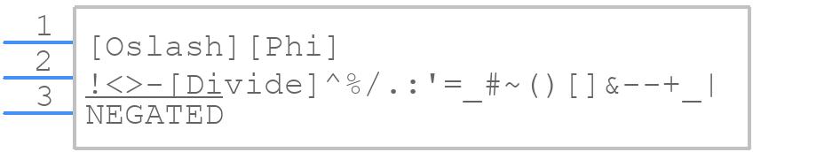 WX5 - Bloggs Bits - PCB symbol