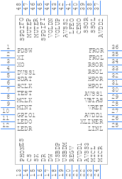 CM6206 - cmedia - PCB symbol