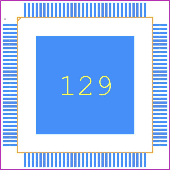 KSZ9897STXI-TR - Microchip - PCB Footprint & Symbol Download