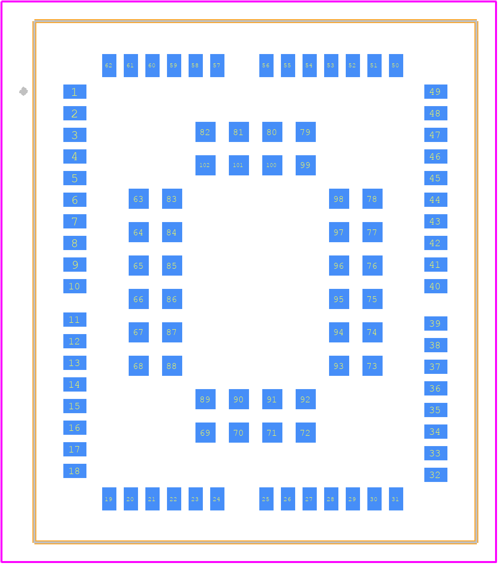 BG96MA - Quectel PCB footprint - Other - BG96MA