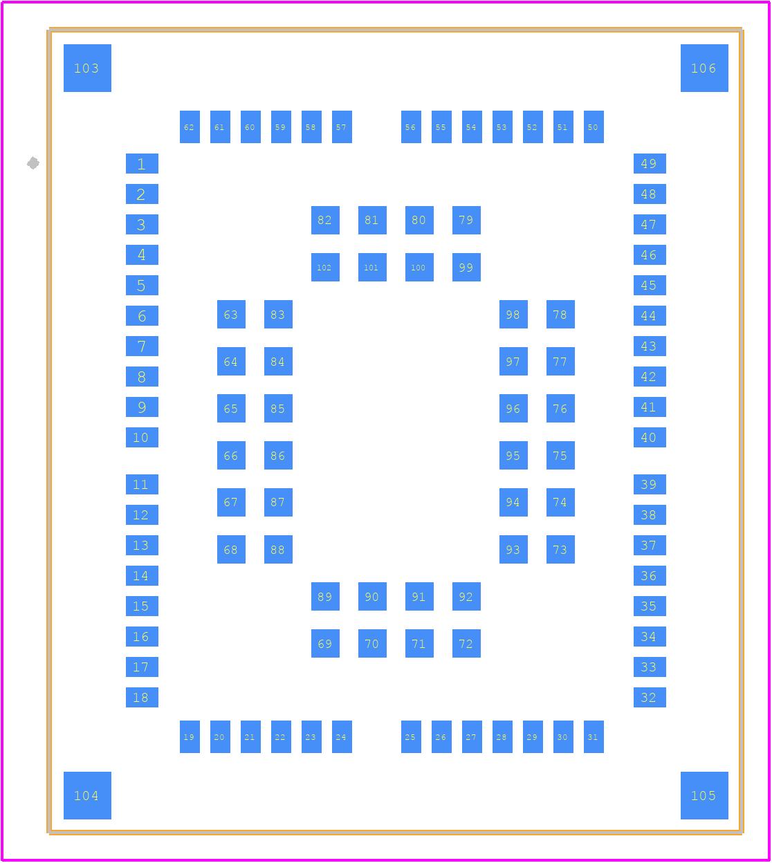 EG95-E - Quectel PCB footprint - Other - EG95-E
