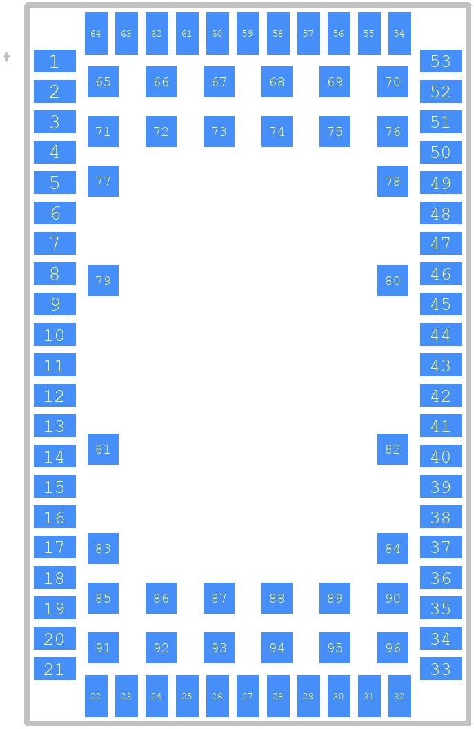 SARA-R412M-02B - U-Blox PCB footprint - Other - SARA-U201-03B