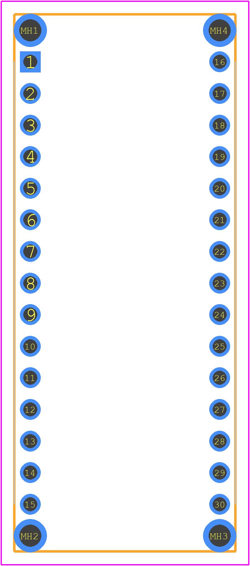 ARD-NANO30NP - Gravitech PCB footprint - Other - ARD-NANO30NP-4