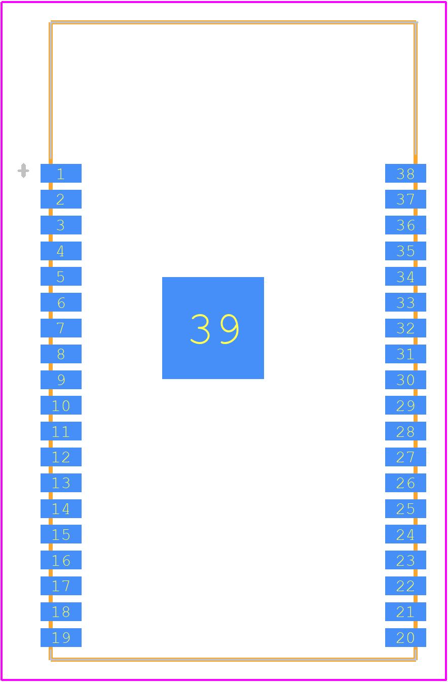 ESP32-WROVER-IB (16MB) - Espressif - PCB Footprint & Symbol