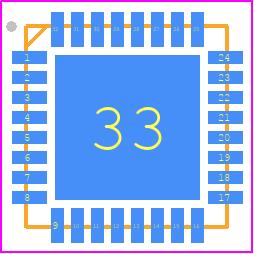 nRF52811-QCAA-R - Nordic Semiconductor - PCB Footprint & Symbol Download