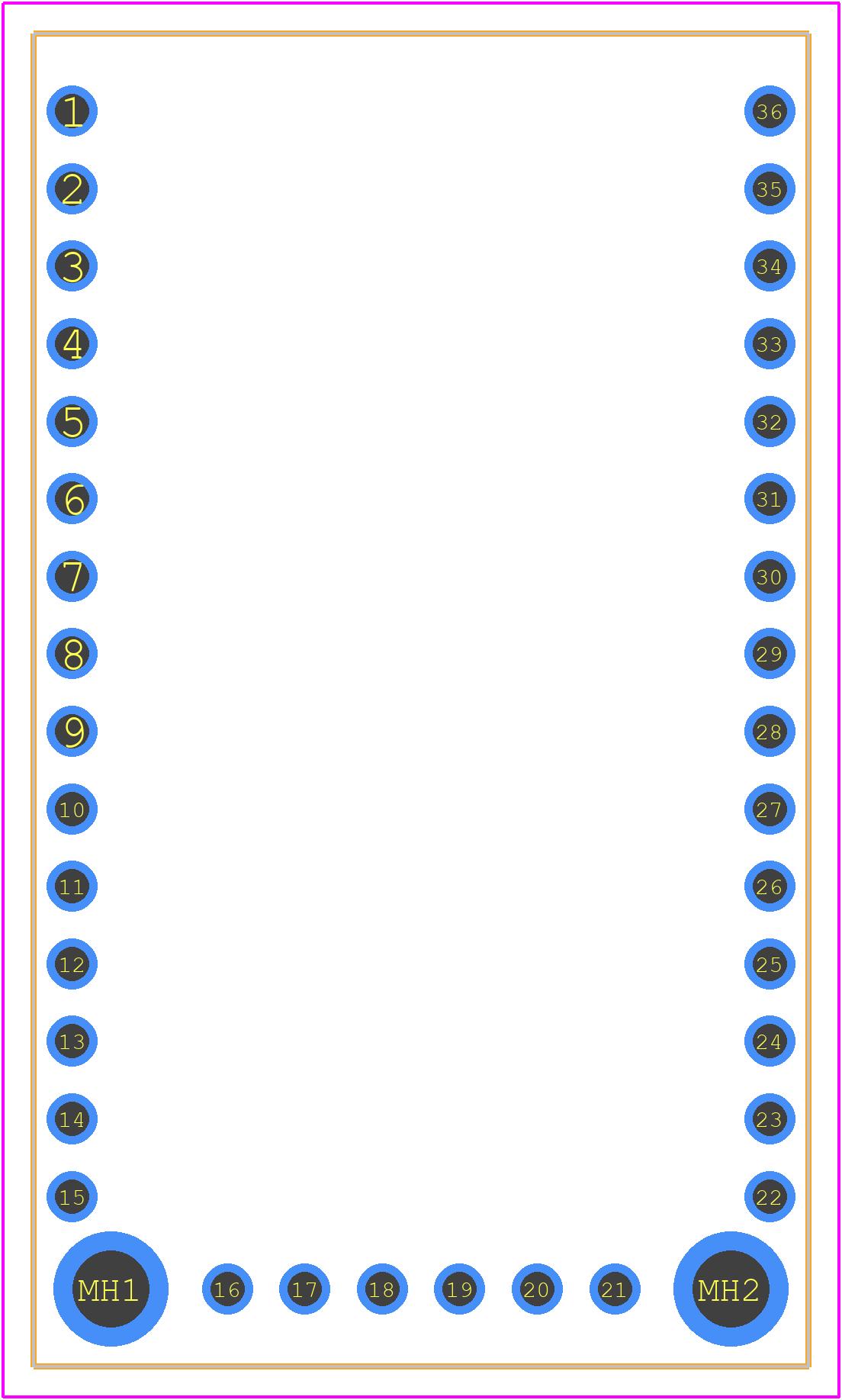 4172 - Adafruit PCB footprint - Other - 4172-3