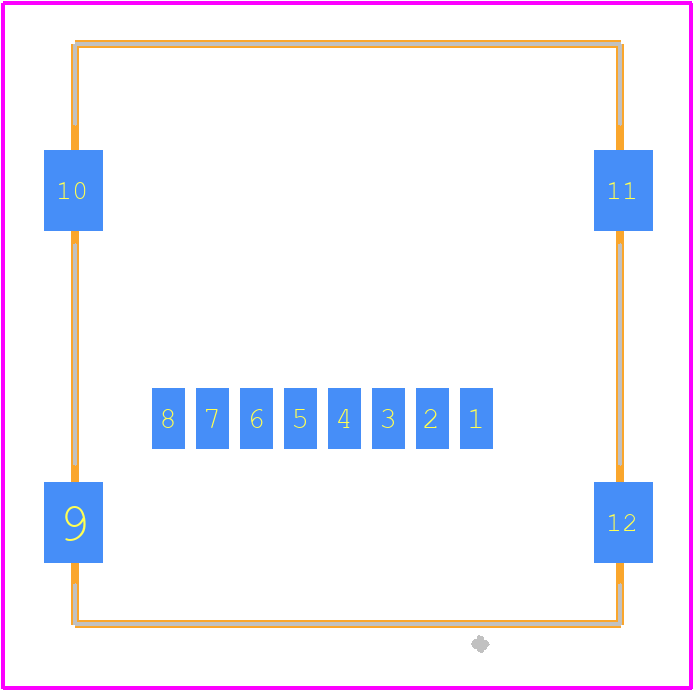 47219-2001 - Molex PCB footprint - Other - 47219-2001