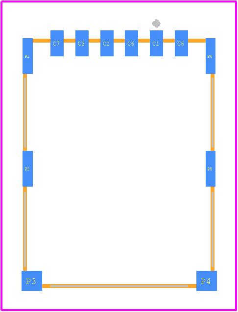 693043020611 - Würth Elektronik PCB footprint - Other - 693043020611-1