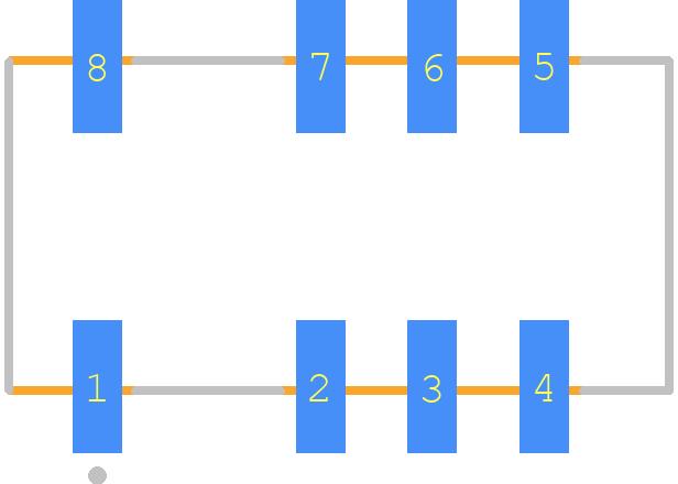 EE2-5NU - Kemet PCB footprint - Other - EE2-5NU