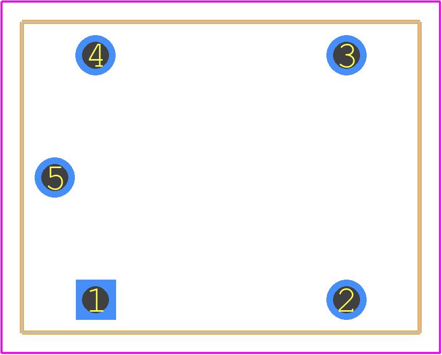 JQC-3F-(T73)-1Z-12VDC - QIANJI PCB footprint - Other - JQC-3F-(T73)-1Z-12VDC-1