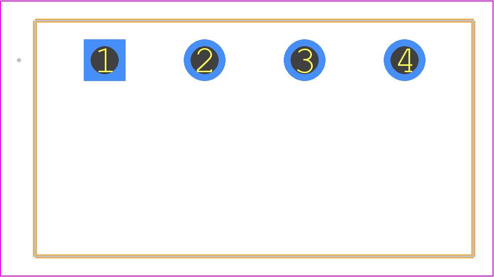 1757268 - Phoenix Contact PCB footprint - Header, Shrouded - 1757271