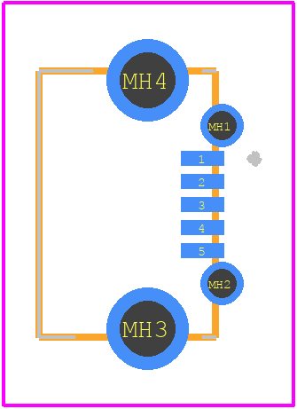 UJ2-MIBH2-4-SMT-TR - CUI Devices PCB footprint - Other - UJ2-MIBH2-4-SMT-TR_1