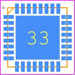 BLUENRG-132 - STMicroelectronics - PCB Footprint & Symbol