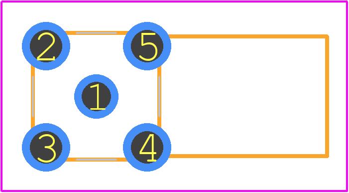 32K201-400L5 - Rosenberger PCB footprint - Other - 32K201-400L5