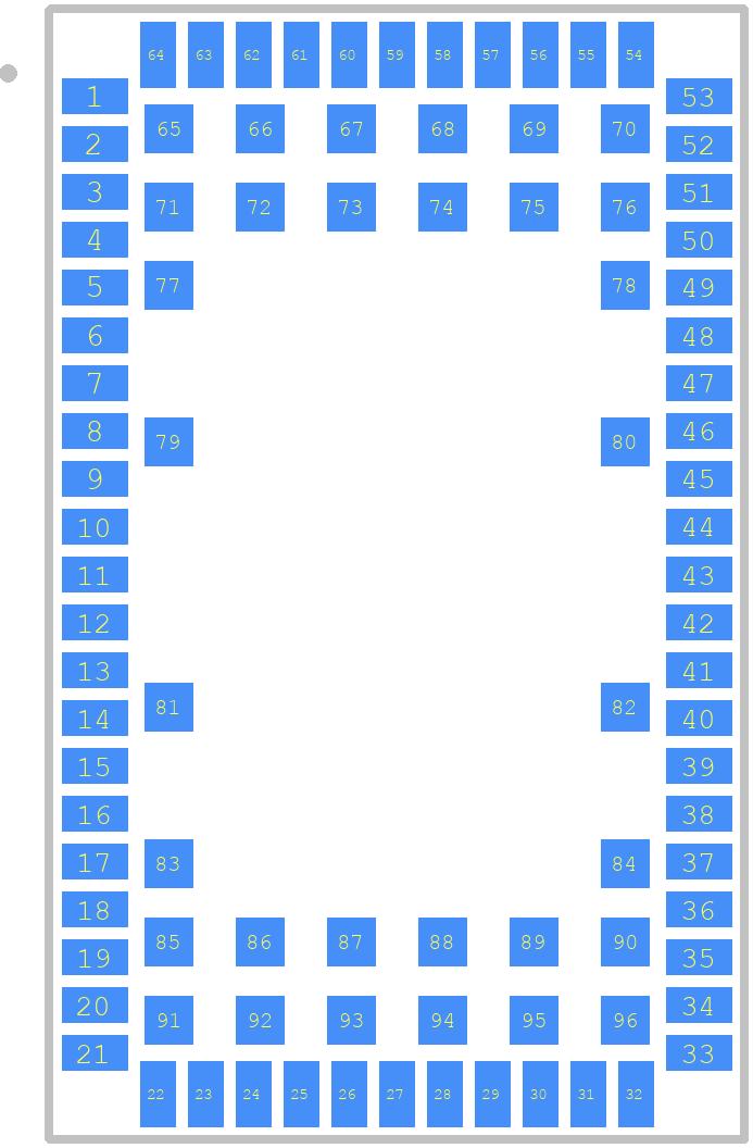 SARA-G350-02S - U-Blox PCB footprint - Other - SARA-G350