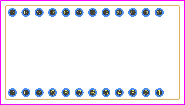 DEV-12587 - SparkFun PCB footprint - Other - DEV-12587-2