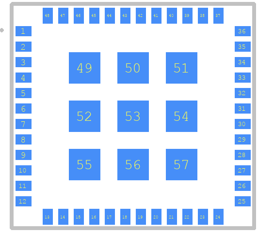 CMWX1ZZABZ-078 - Murata Electronics PCB footprint - Other - CMWX1ZZABZ-078
