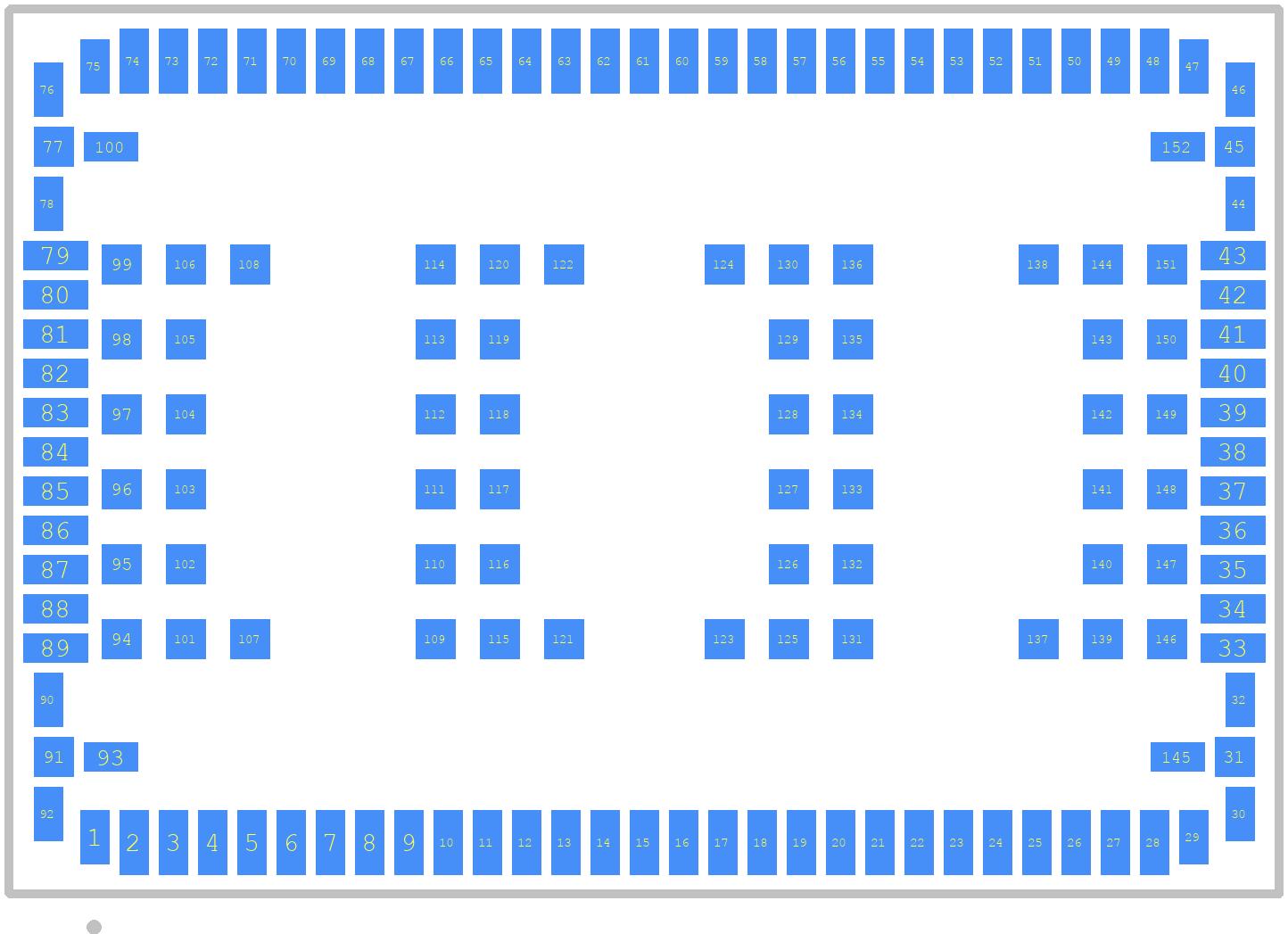 TOBY-L200-02S - U-Blox PCB footprint - Other - TOBY-L2