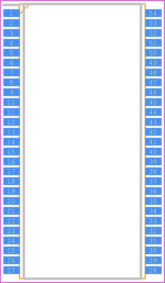 MT48LC16M16A2P-75:D - Micron - PCB Footprint & Symbol Download