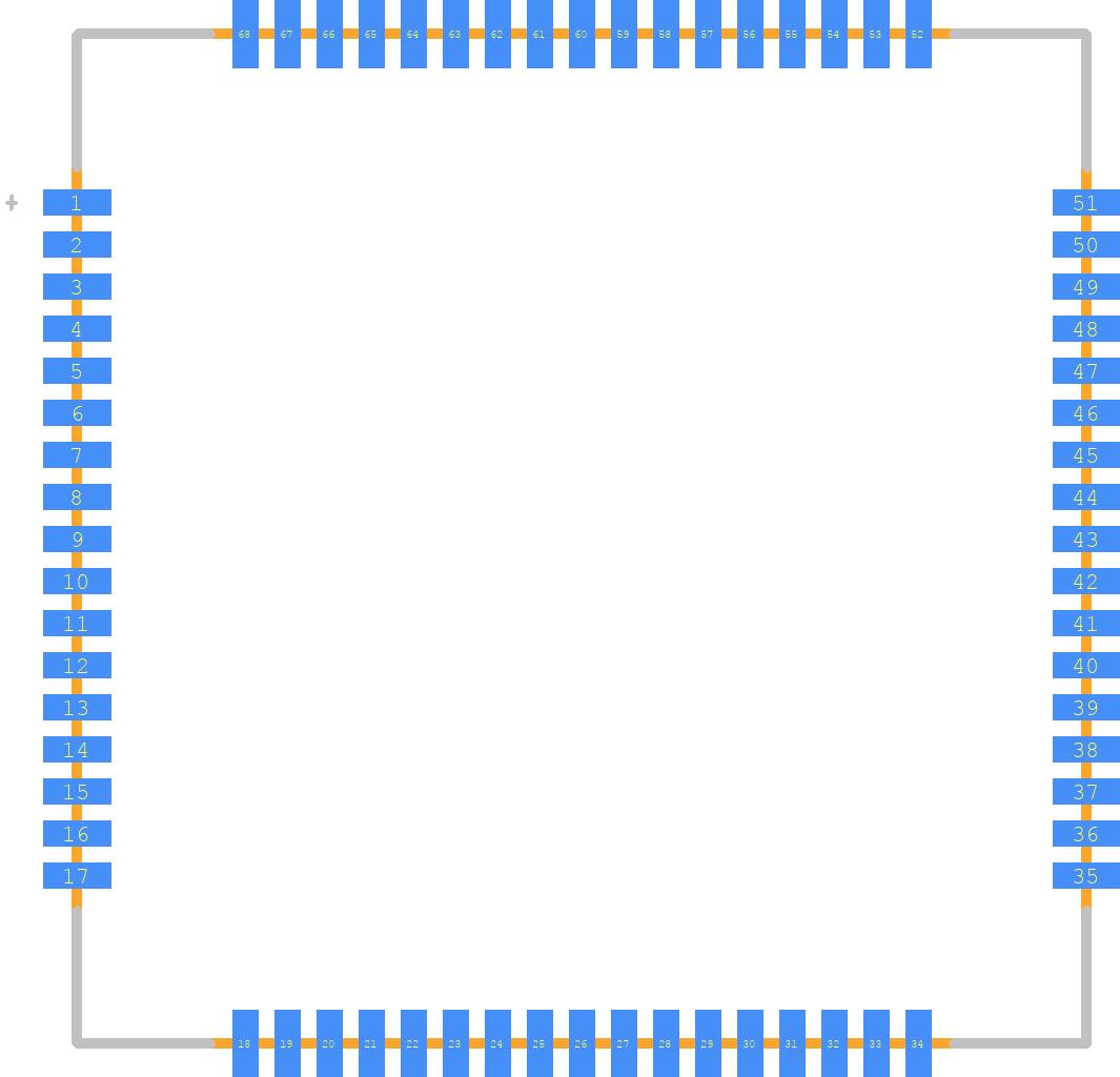 SIM808 - SIMCOM PCB footprint - Other - SIM808