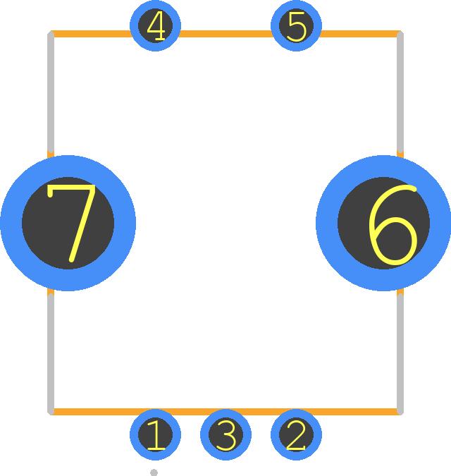 PEC11R-4015F-S0024 - Bourns PCB footprint - Other - PEC12R-4XXXF-SXXXX