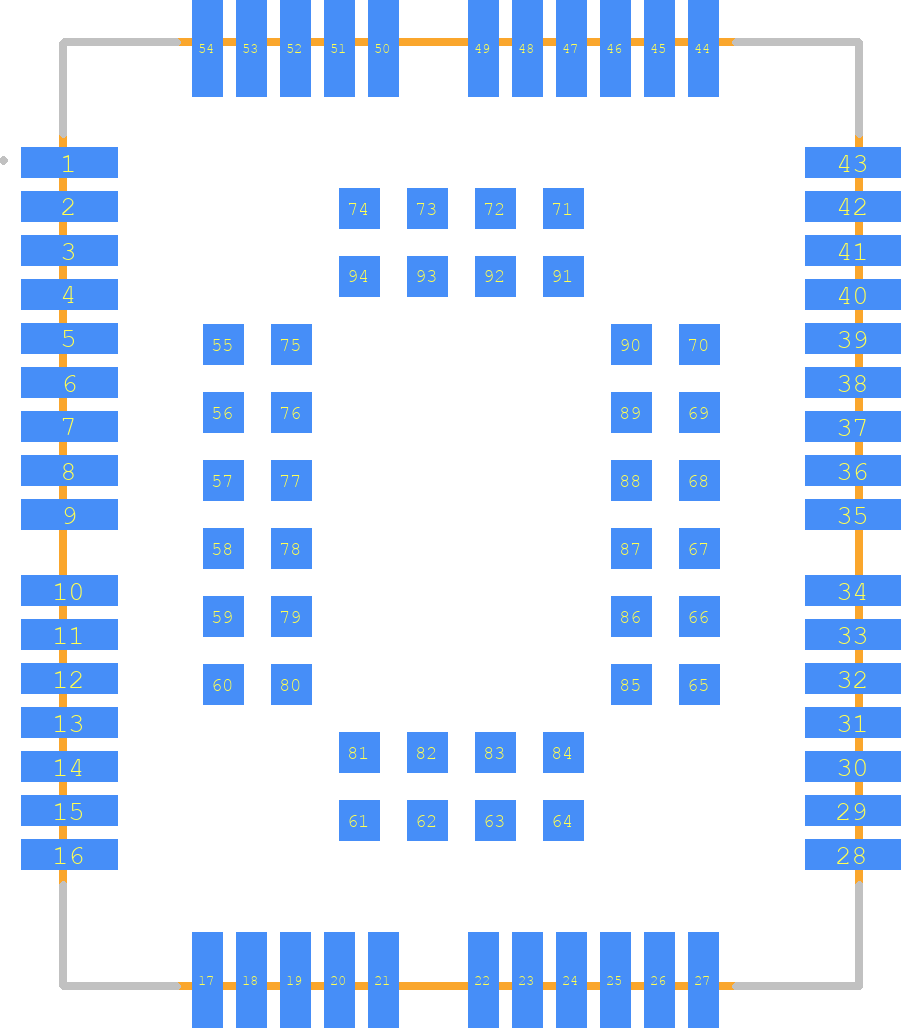 BC95-B20 - Quectel PCB footprint - Other - BC95-B20