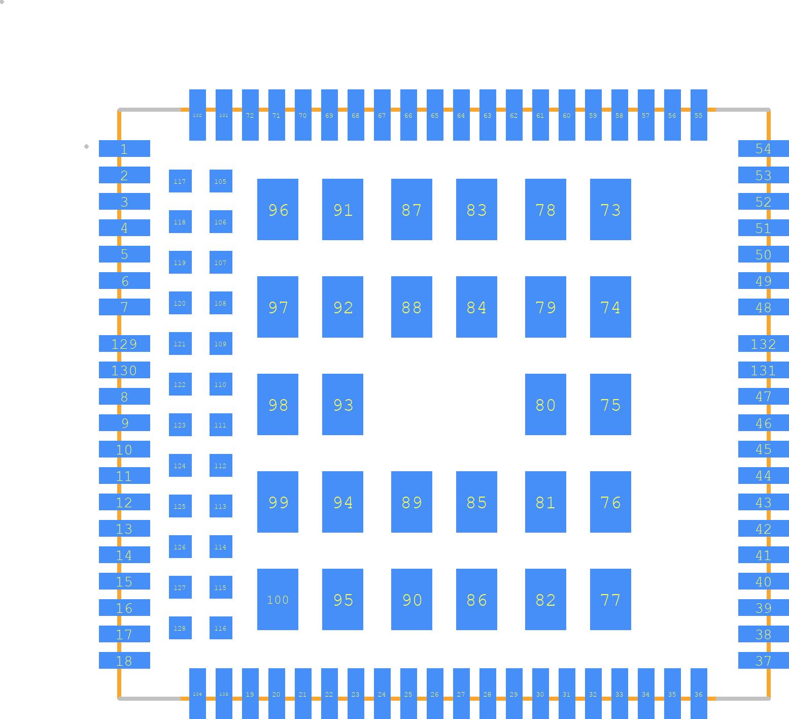 EC25-AU - Quectel PCB footprint - Other - EC25-AU
