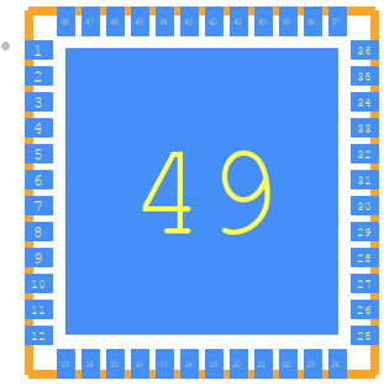ESP32-PICO-D4 - Espressif PCB footprint - Other - ESP32-PICO-D4_1