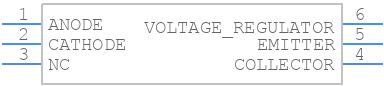 OCP-PCP116 - Lumex - PCB symbol